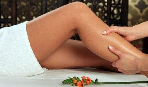 Massaggio drenante alle gambe