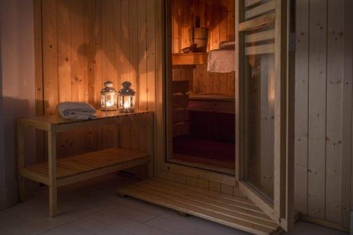 La sauna di Soul Wellness