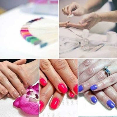Manicure smalto semi-permanente Gelish