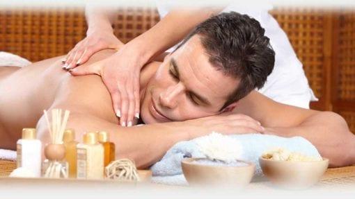 Pacchetto relax Caldo Natale massaggio